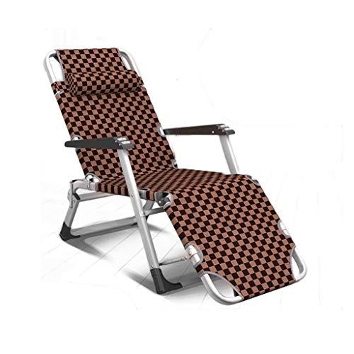 Portable Zonnestoel Chair oldable Zero Gravity, Recliner ligstoelen Waterproo Chaise Lounge Deckchairs Metal of Garden Patio urniture Outdoor voice, Gray, H117ZJ MCWJ11 (Kleur: grijs) zhihao