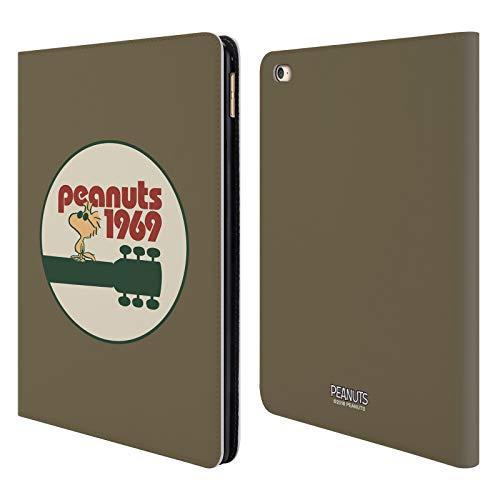 Head Case Designs Oficial Peanuts Guitarra 1969 Woodstock 50º Carcasa de Cuero Tipo Libro Compatible con Apple iPad Air 2 (2014)