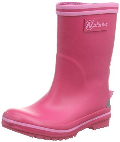 Naturino Mädchen New RAIN Gummistiefel, Pink (9104Pink), 24
