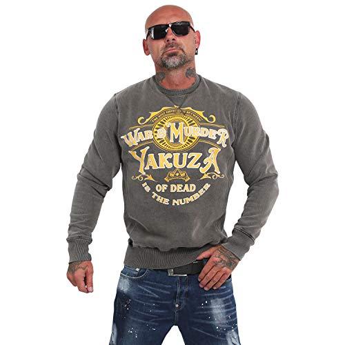 Yakuza Herren War is Murder Acid Pullover Sweater