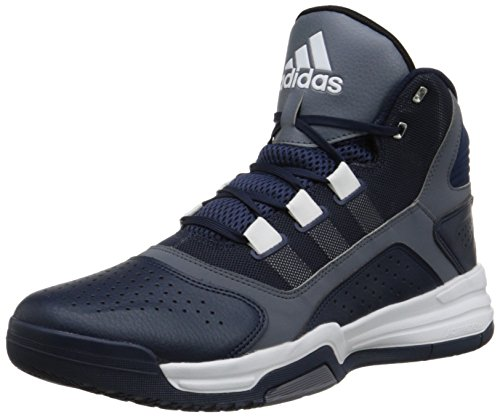 adidas Performance Men's Amplify Basketball Shoe, Collegiate Navy Blue/Grey/White, 10 M US