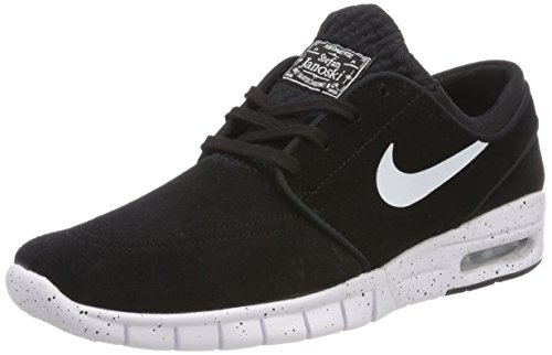 Nike Stefan Janoski Max L, Chaussures de Skate Homme, Noir (Blackwhite 002), 36 EU