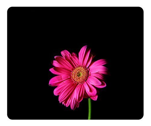 Gaming Mouse Pad Oblong geformte Mausmatte Design Pink Gerber Daisy Natural Eco Rubber Langlebiger Computertisch Schreibwaren Zubehör Mauspads Für Geschenkunterstützung Kabelgebundene drahtlose oder B