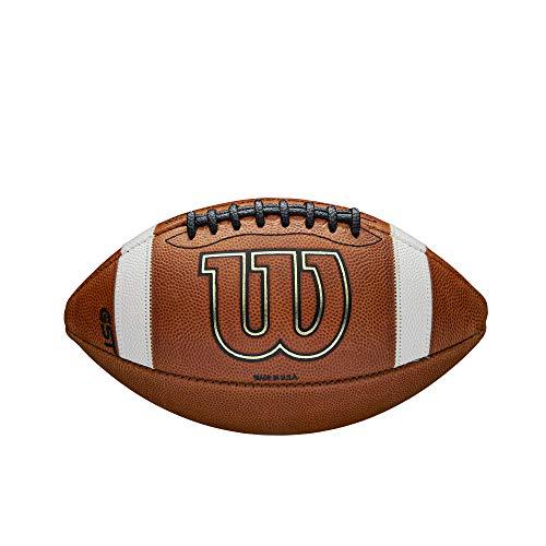 Wilson GST Lederspiel-Fußball für Jugendliche