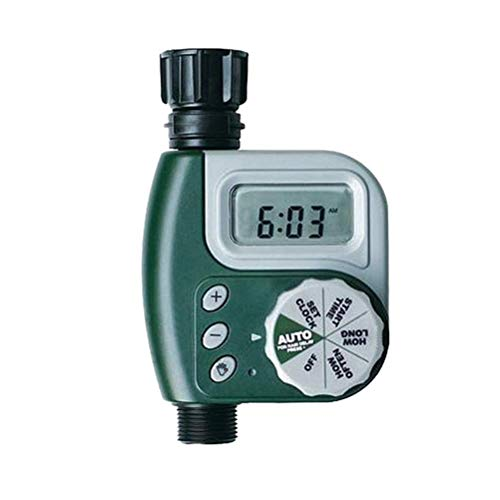 Temporizador de agua de jardín digital, sistema de riego automático, controlador de riego, temporizador de grifo de manguera de agua de jardín digital
