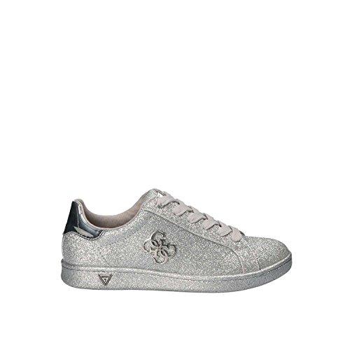 Guess Baysic Sneaker Glitter Silver FLBYC1ELE12 (40)