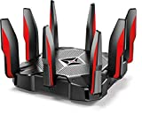 TP-Link AC5400 Tri Band Gaming Router – MU-MIMO, 1.8GHz Quad-Core 64-bit CPU, Game...