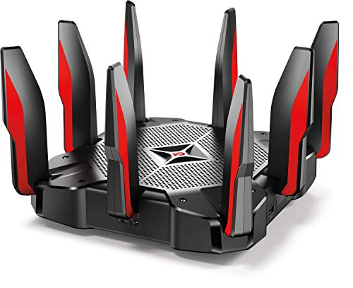 TP-Link AC5400 Tri Band Gaming Router – MU-MIMO, 1.8GHz Quad-Core 64-bit CPU, Game First Priority, Link...