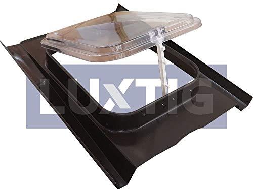 Lucernario Cupola - Modello 45x60 cm - Sottotetti non abitati - Tipo copertura Coppo