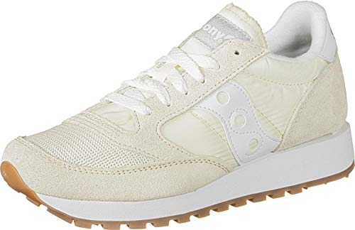 Saucony Damen Jazz ORIGINAL Vintage Low-Top Sneakers, Weiß (Blanco 93), 36 EU