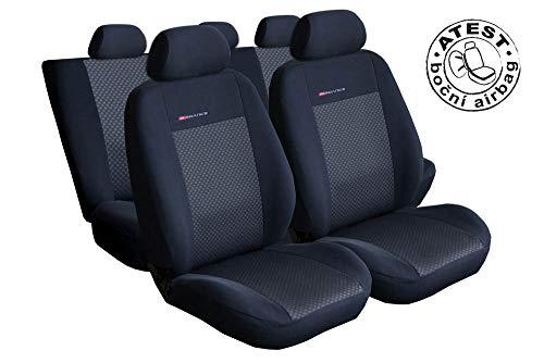 Renault Master IV 2+1 vanaf 2010 op maat gemaakte stoelhoezen stoelbekleding beschermhoezen stoelhoezen