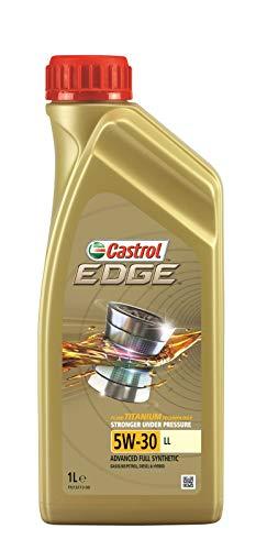 Castrol 15666E Olio Castrol Edge 5w-30 Ll Titanium 1l Lubrificante auto
