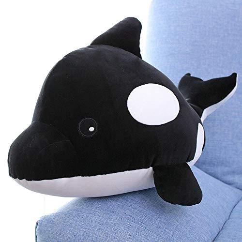 Zeedier knuffel baby walvis pop slaapkussen haai pop - orka pop _35 cm