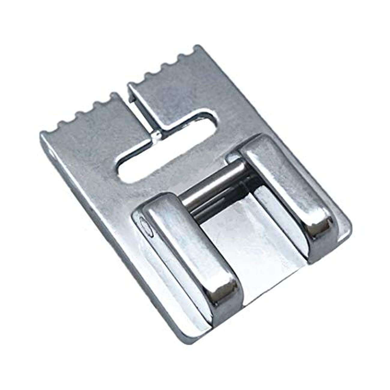 YEQIN Pintuck Groove Presser Foot 9 Groove - Fits All Low Shank Snap-On Brother, Babylock, Euro-Pro, Janome, Kenmore, White More!