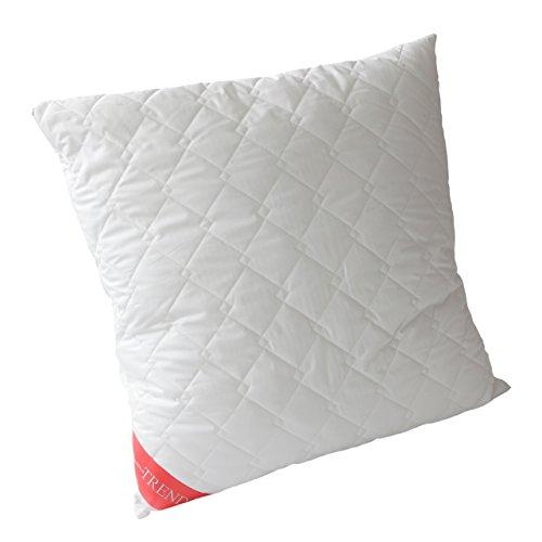 Badenia Trendline Kissen, Baumwolle, weiß, 80 x 80 x 5 cm