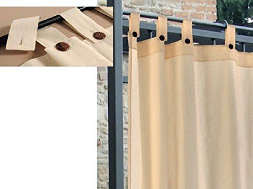 Tenda A Bretelle Per Gazebo 160X270CM Cotone / Poliestere