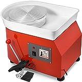 Chrisun 350W Roue Electrique Céramique Machine 25CM Céramique Turbine 220V Céramique Turbine Machine De Moulage en Céramique Turbine Pied Réglable DIY