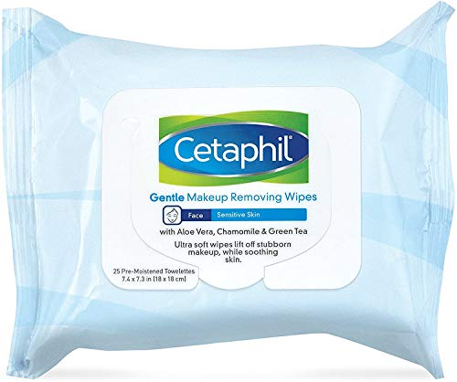 Cetaphil Gentle Makeup Removing Wipes, 0.12 Pound