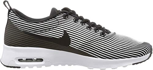 Nike Air MAX Thea Jacquard Wmns 718646, Zapatillas para Mujer, Negro (Black 718646/003), 38.5 EU