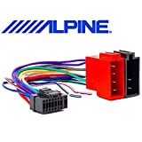 ALPINE Cable Adaptador Conector Autorradio ISO 16 pin