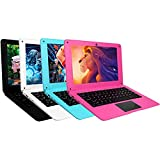 iSTYLE 10.1'' Ordenador Portátil Windows 10 Ultrabook Notebook , 2GB RAM 64GB eMMC, Soporte de expansión Micro SD de 128GB, with Ratón, Alfombrilla, Bolsa de computadora, Auriculares (Pink)