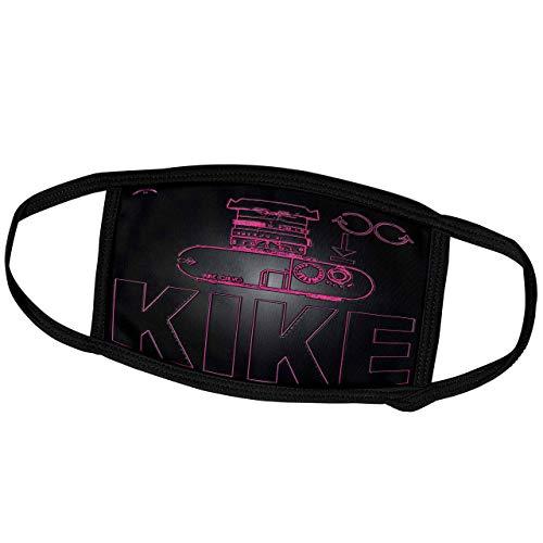 Promini Monatsmaske - Kike Calvo Foto Illustrationen und Fotografie Zitate - Rangerfinder Kamera - Staubmaske Outdoor Schutzmaske