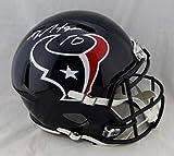 DeAndre Hopkins Houston Texans Signed Autograph Speed Full Size Helmet JSA Witnessed Certified
