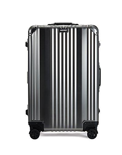 T&S スーツケース レジェンドウォーカー ハードケース メタルフレーム 65L ガンメタ 1510-63(GM)