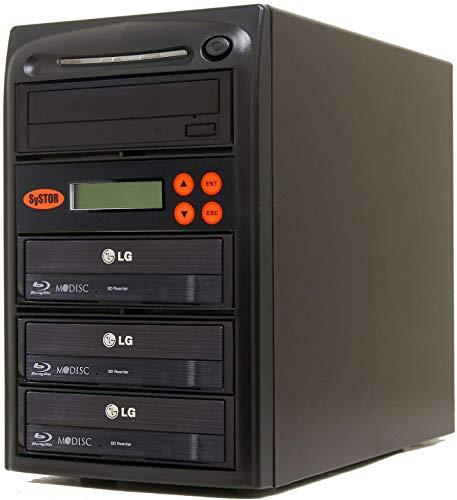 Systor 1-3 Blu-ray 16X BD M-disc CD/DVD Kopierstation