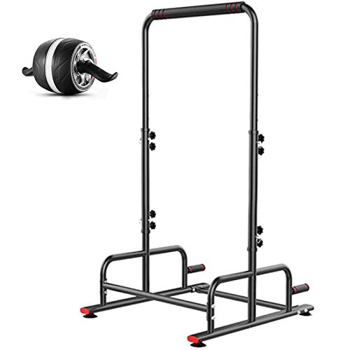 KHXJYC Multifunktionale Pull-Ups, Indoor Single Parallel Bars, Home Fitness-Geräte, Kraftturm-Home-Kraft-Training Fitness-Übungsstation, Saugnapf Free Punching
