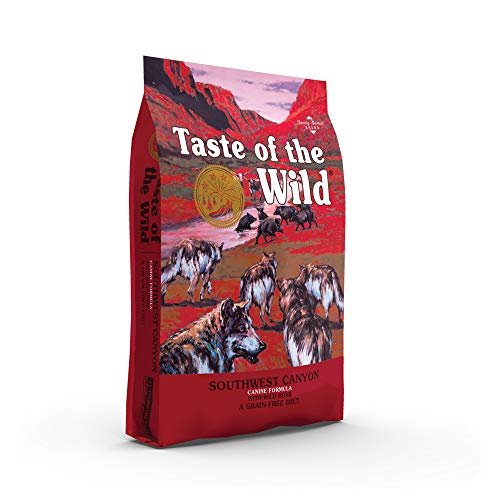 Taste of the Wild Grain Free High Protein Real Meat Recipe Southwest Canyon Premium Dry Dog Food
