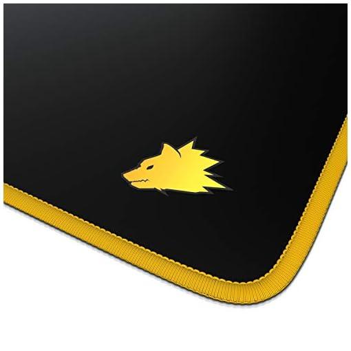 Alfombrilla de ratón para Gaming 900x400 mm - Mousepad XXL para ratón Grande con diseño - Base de Mesa de tamaño Grande… 3