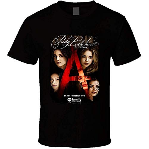 Golden dosa Sunshine T Shirts Pretty Little Liars TV Show Series Fan Poster Cool T Shirt
