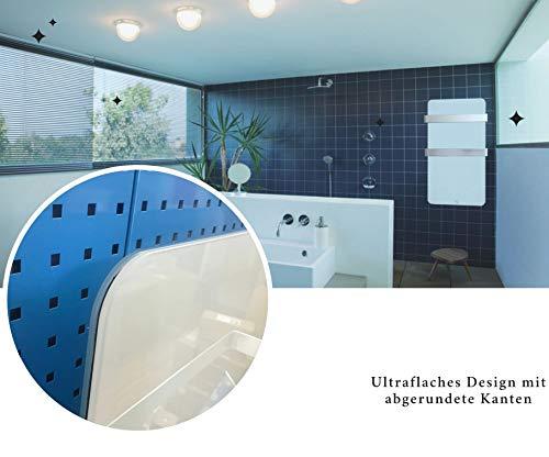Infrarotheizung 600 Watt Glas Infrarot Heizung Design Elektrischer Heizkörper doppelte Bild 5*