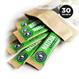 Jade Leaf Matcha Green Tea Powder - Ceremonial Single Serve Stick Packs - USDA Organic, Authentic Japanese Origin - Antioxidants, Energy [30 Count]