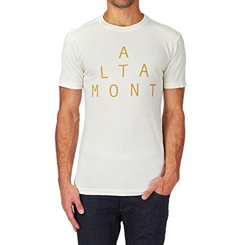 ALTAMONT Lockstep sp15 t-Shirt pour Adulte Large Blanc - Os