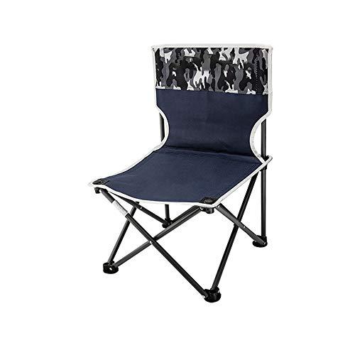 DEI QI Outdoor Klappstuhl Tragbare Mazar Hocker Angeln Stuhl Kunst Sketch Stuhl Camping Strand Stuhl Zug Bank (Farbe : Camouflage, Size : L)