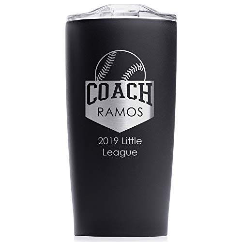 Engraved Softball Coach Tumbler