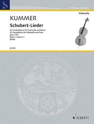 Schubert di Canzoni Opus.117B Band 1: per violoncello e pianoforte
