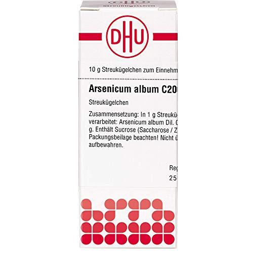 DHU Arsenicum album C200 Streukügelchen, 10 g Globuli