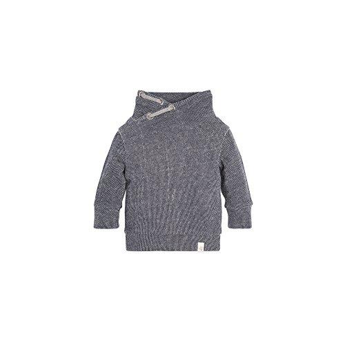 Burt's Bees Baby Baby Boys' Loose Pique Applique Sweatshirt, Midnight, 24 Months