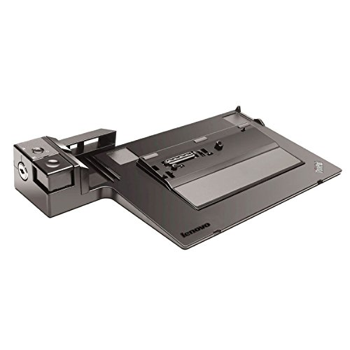 Lenovo 0A65667 Mini Dock Plus Series 3 Dockingstation für Thinkpad T400s/T410/T420/T430 (VGA, DVI, DisplayPort, USB 3.0)