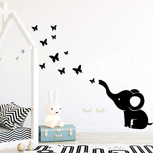 Tianpengyuanshuai wandtattoo olifant muursticker decoratie kinderkamer