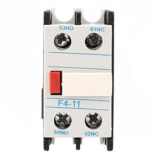 Contactor Auxiliar Contact Module LADN11 Contactor AC F4-11 Un NO/NC Bloque de...