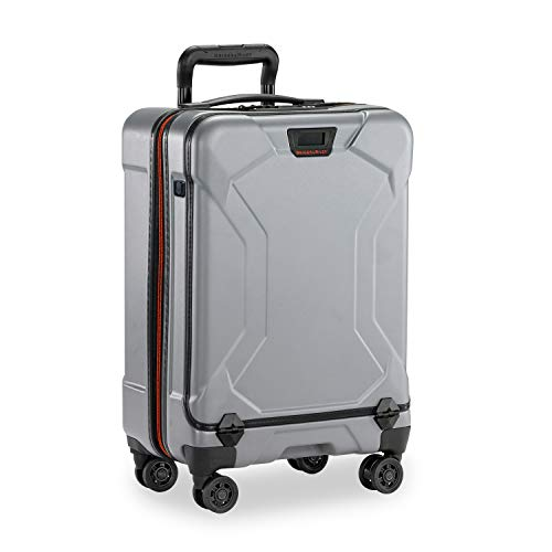 Briggs & Riley Torq Hardside Luggage, Granite, Carry-On 21-Inch