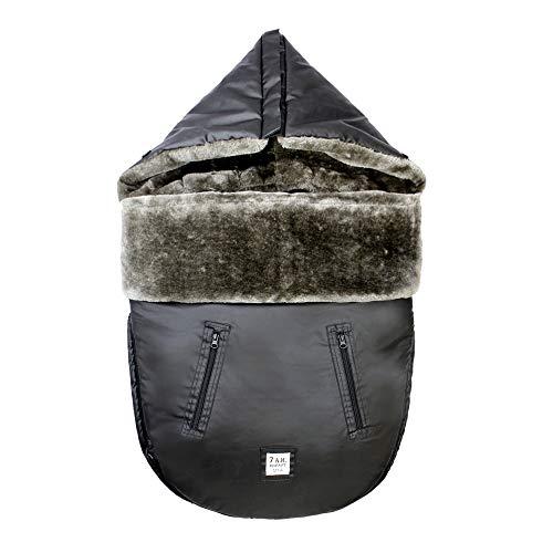 7AM Enfant WaxedPOD Fußsack - Universeller Winterschlafsack für Kinderwagen & Kindersitze, Baby, Säuglings & Kleinkinder Schlaf-Wintersack für kaltes Wetter