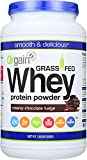 Orgain Grass Fed Clean Whey Protein Powder, Creamy Chocolate Fudge - Low Net Carbs, Gluten Free, Soy Free, No Sugar Added, Kosher, Non-GMO, 1.82 Lb (Packaging May Vary)