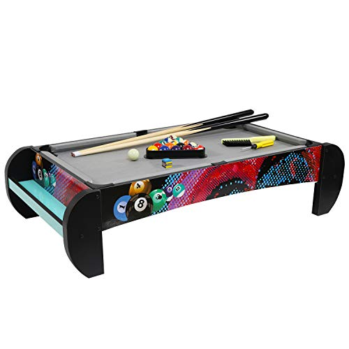 Pool Table and Billiard Table Top Games for Kids, Completed Pool Table Top and Billiaard Table Set