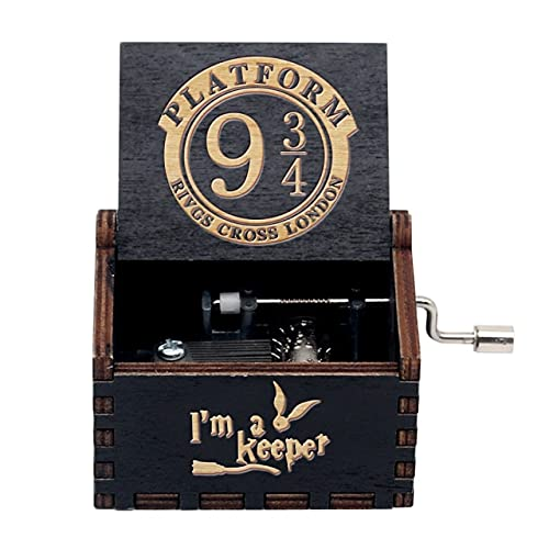 Leisont Woodhand Crank Queen's Music Box Bohemian Rhapsody Theme Game of Thrones Beauty Beast Stakes. HP