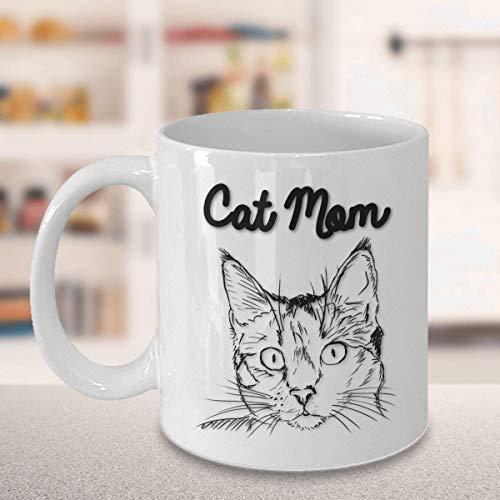 Divertido regalo de Navidad para gatos y madres.